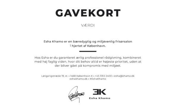 Gavekort Esha