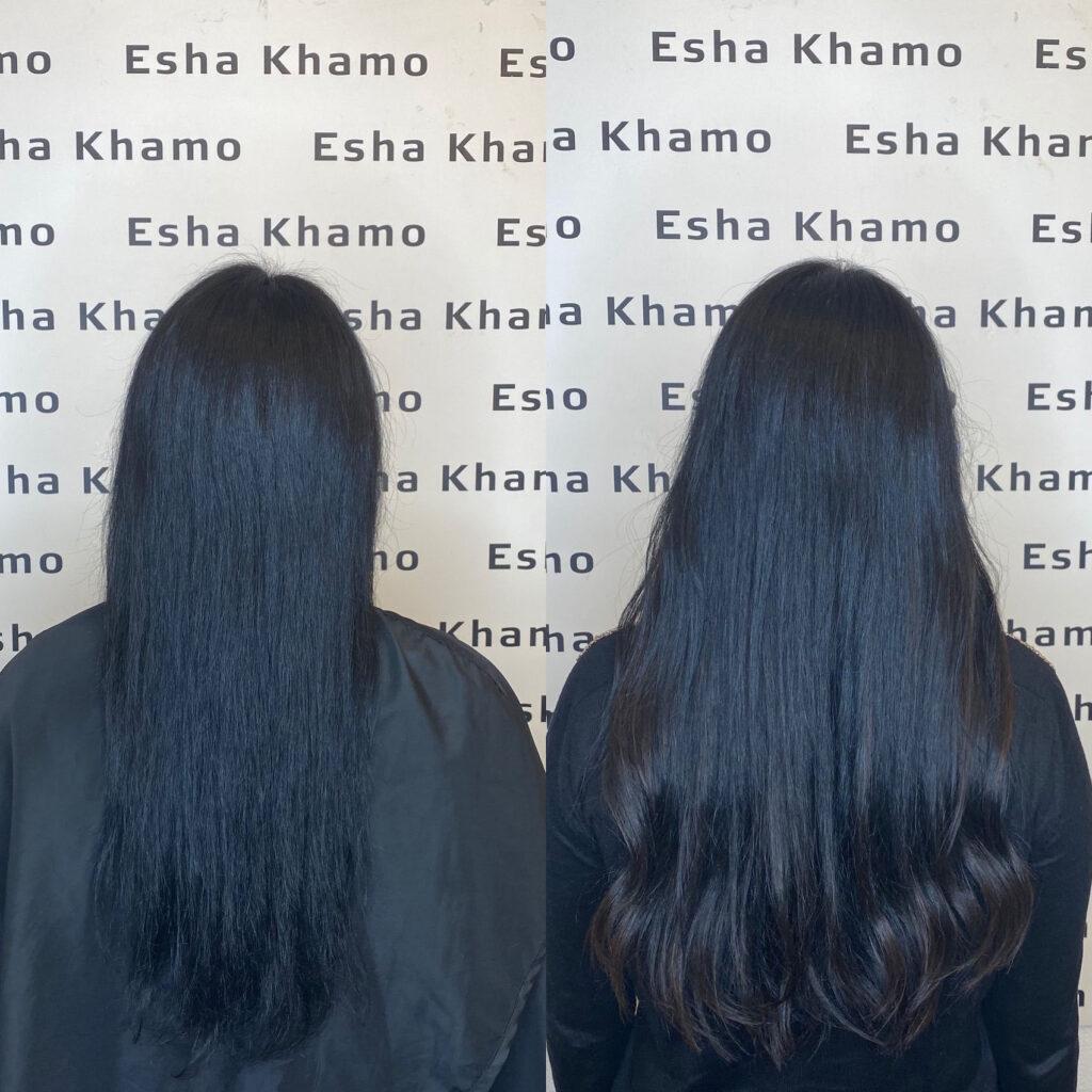 kreatin hårkur frisør